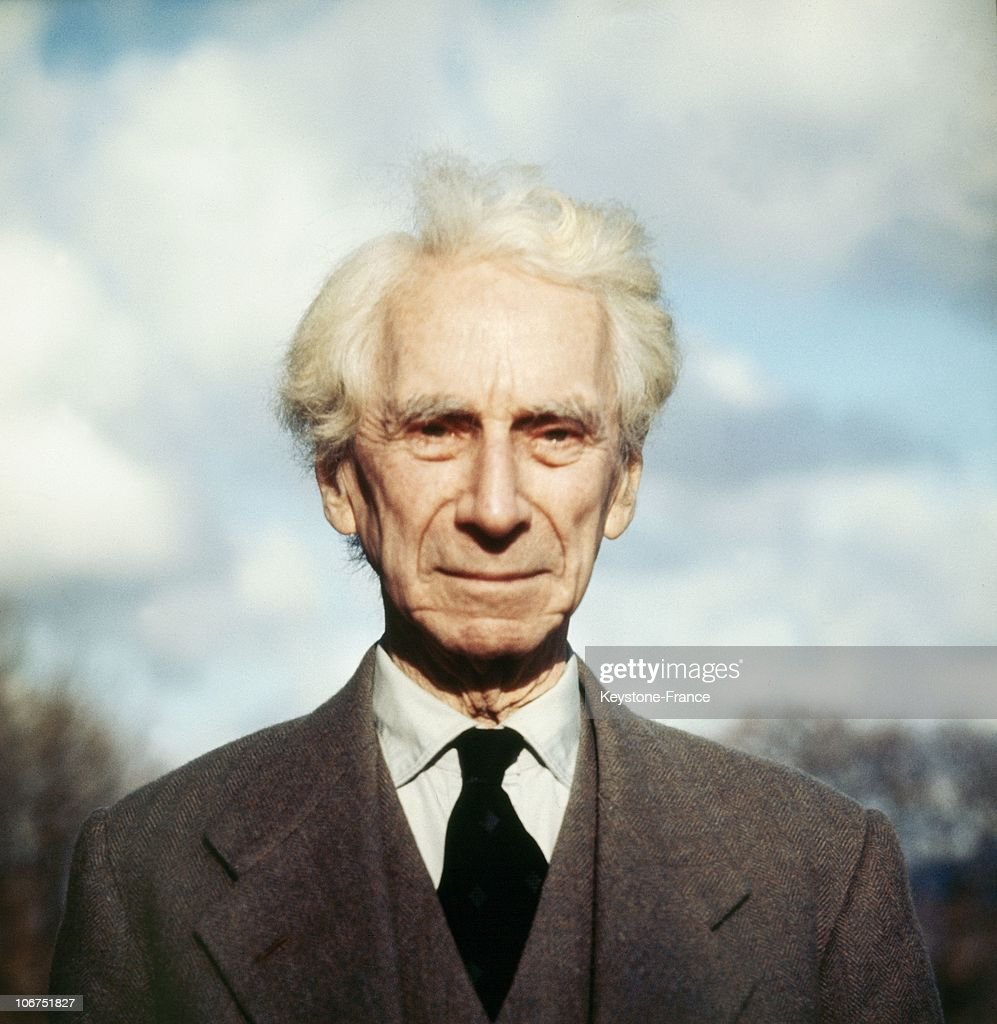Bertrand Russell In The 1960'S : News Photo