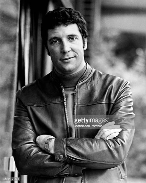 Portrait of the British singer Tom Jones . London, July 1968