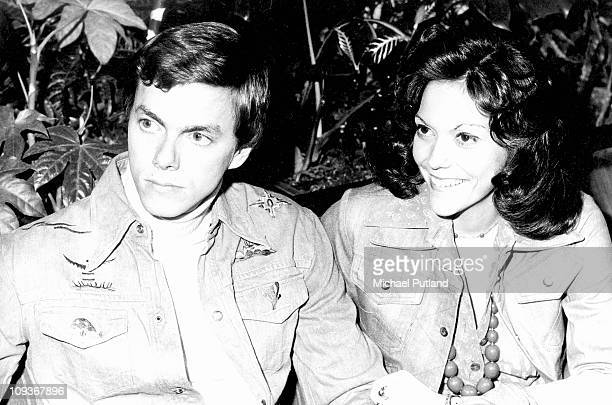 A portrait of The Carpenters London 9th February 1974 Richard Carpenter Karen Carpenter