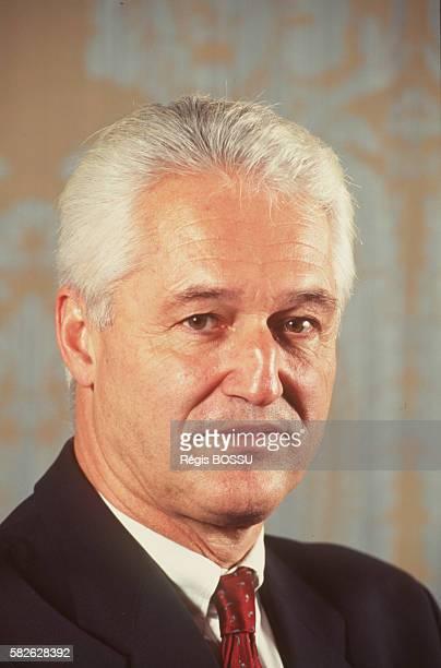 Portrait of the CEO of Degussa ErnstUwe Bufe