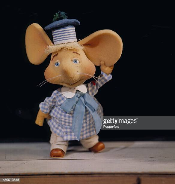 1967 Portrait of the childrens puppet show character Topo Gigio featured on television in 1967