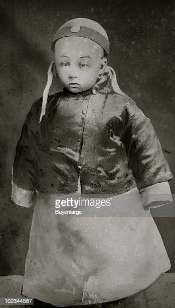 Portrait of the Chinese Emperor PuYi as a young child ca1910