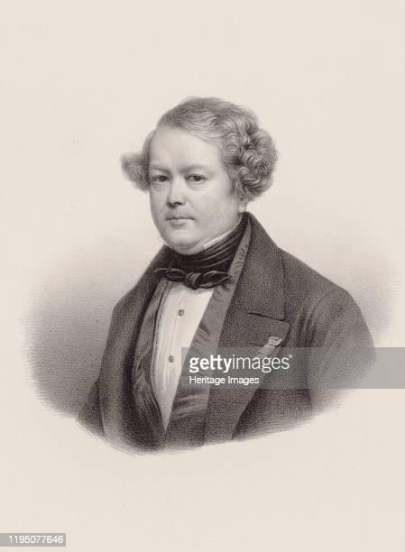Portrait of the composer AugusteMathieu Panseron 1850 Private Collection Artist Noël Léon