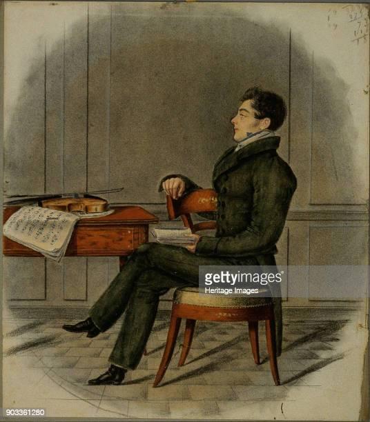 Portrait of the composer DanielFrançoisEsprit Auber Found in the Collection of Philharmonie de Paris