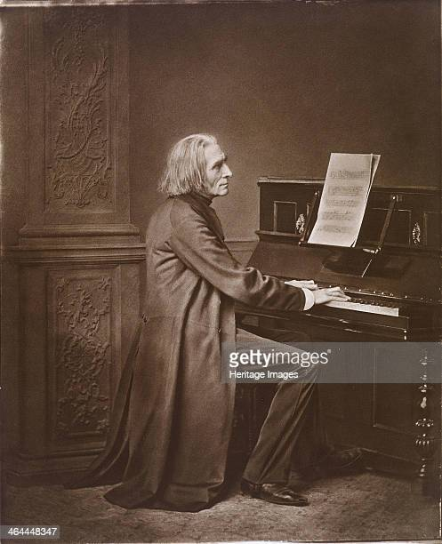 Portrait of the Composer Franz Liszt