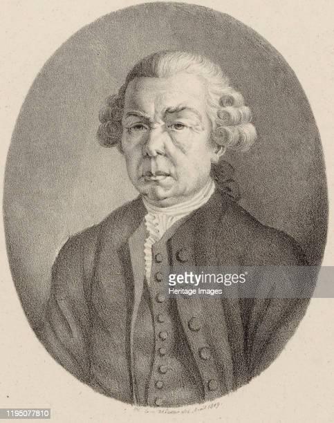 Portrait of the composer Franz Xaver Richter , 1819. Private Collection. Artist Winter, Heinrich Eduard von .