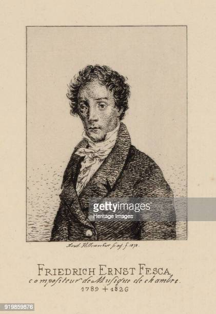 Portrait of the composer Friedrich Ernst Fesca Private CollectionFine Art Images/Heritage Images/Getty Images