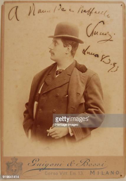 Portrait of the Composer Giacomo Puccini , 1893. Found in the Collection of Casa dei Puccini, Celle Pescaglia.