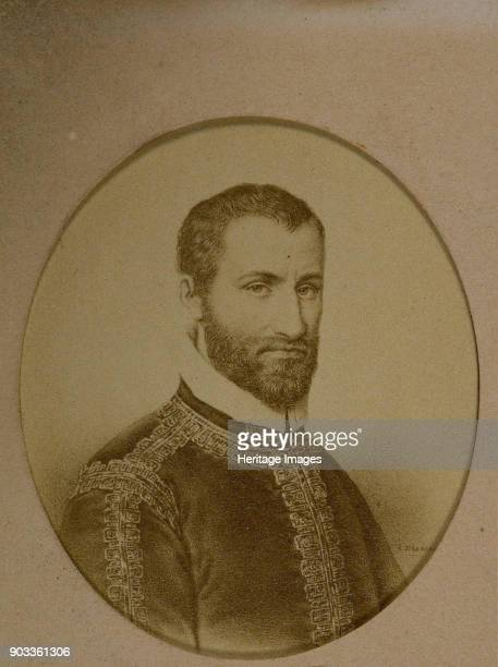 Portrait of the composer Giovanni Pierluigi da Palestrina Found in the Collection of Philharmonie de Paris