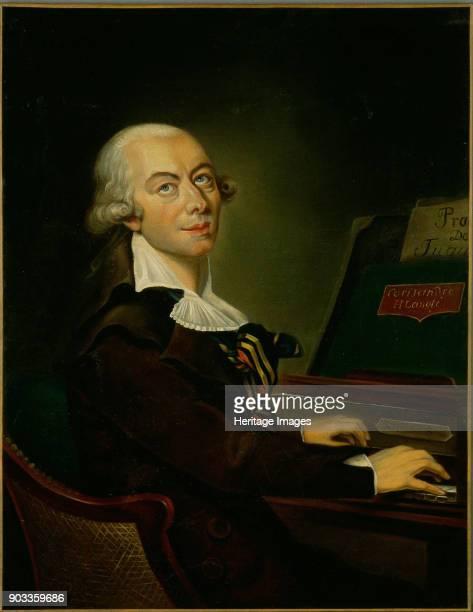 Portrait of the composer Honoré François Marie Langlé Found in the Collection of Philharmonie de Paris