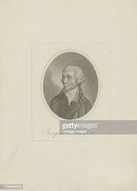 Portrait of the composer Joseph Haydn 1800s Private Collection Artist Anonymous