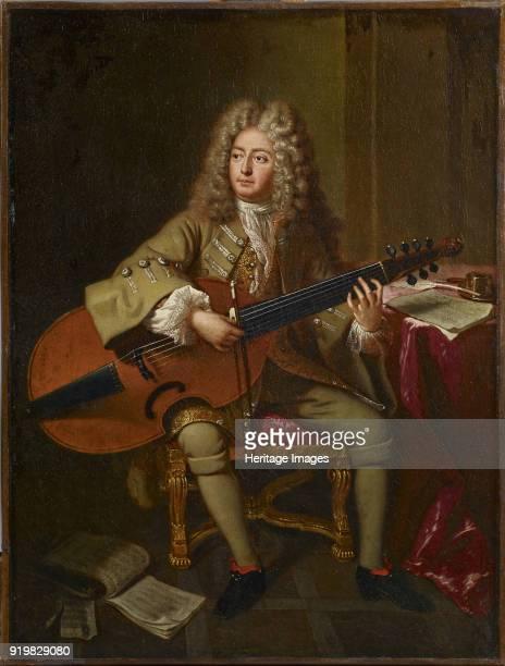 Portrait of the composer Marin Marais 1704 Found in the collection of Philharmonie de Paris