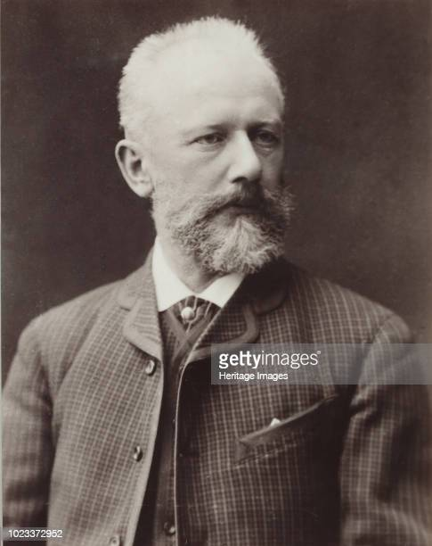 Portrait of the composer Pyotr Ilyich Tchaikovsky 1887 Found in the Collection of State P Tchaikovsky Memorial Museum Klin