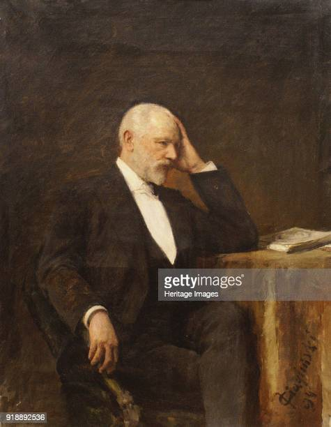 Portrait of the composer Pyotr Ilyich Tchaikovsky 1894 Found in the collection of Regional Museum of Fine and Applied Art Smolensk