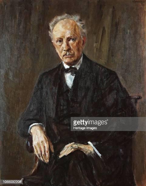 Portrait of the composer Richard Georg Strauss 1918 Found in the Collection of Staatliche Museen Berlin Artist Liebermann Max