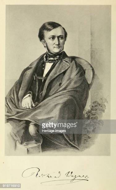 Portrait of the Composer Richard Wagner 1849 Private Collection