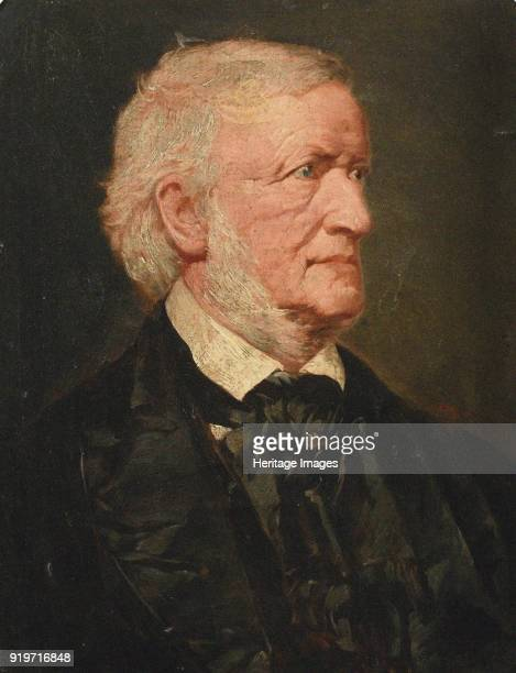 Portrait of the Composer Richard Wagner Found in the Collection of Richard Wagner Museum Bayreuth