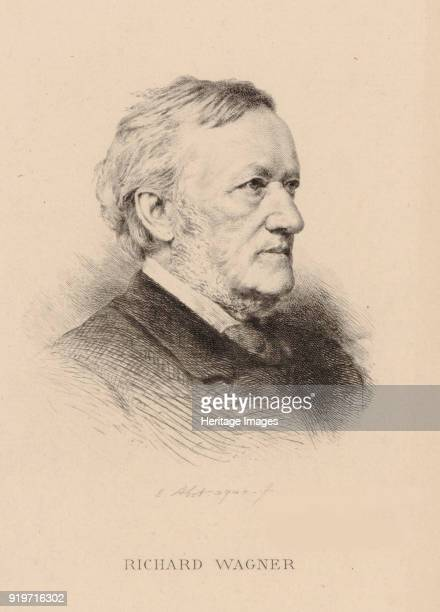 Portrait of the composer Richard Wagner Private Collection