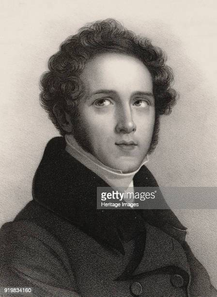 Portrait of the composer Vincenzo Bellini Found in the collection of Taneyev Scientific Musical Library Moscow