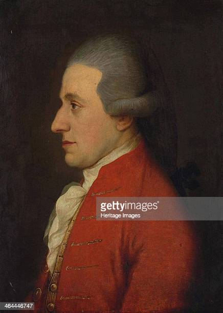 Portrait of the composer Wolfgang Amadeus Mozart 1780s From a private collection