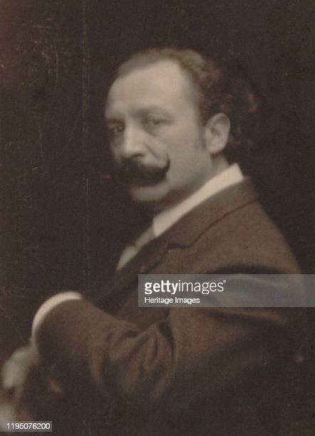 Portrait of the Composer Xavier Leroux , 1910. Private Collection. Artist Photo studio Paul Berger.