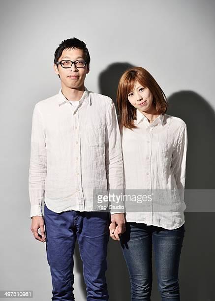 Portrait of the couple,Japan