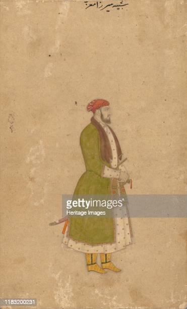 Portrait of the Courtier Mirza Muizz circa 16801700 Creator Unknown