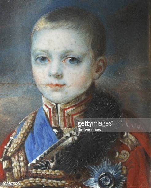 Portrait of the Crown prince Alexander Nikolayevich Found in the Collection of Podstanitsky collection