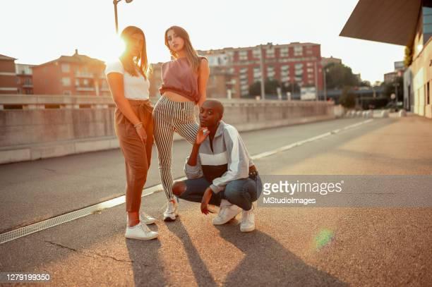 porträtt av dansgruppen - dance troupe bildbanksfoton och bilder