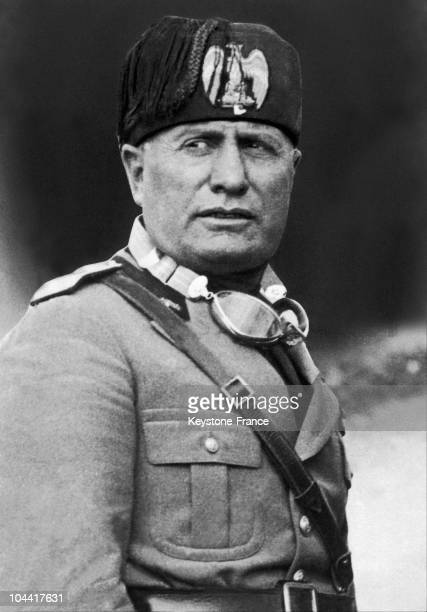 A portrait of the Duce Benito MUSSOLINI between 1937 and 1940