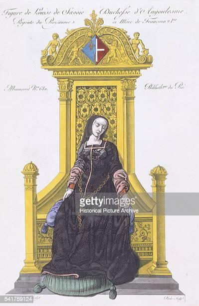 Portrait of the Duchess Louise de Savoie