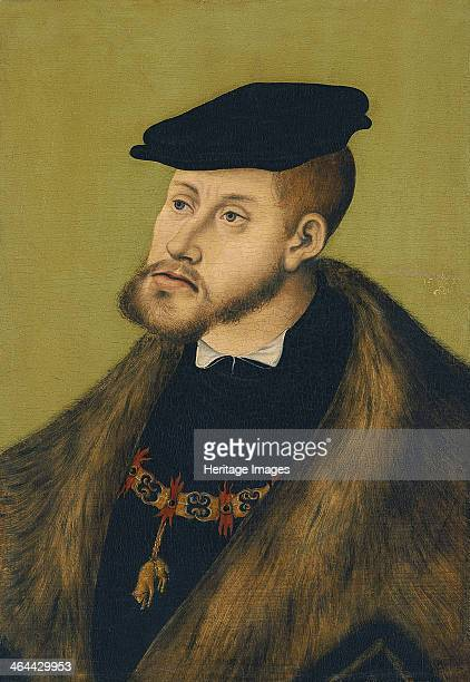 Portrait of the Emperor Charles V , 1533. Found in the collection of the Thyssen-Bornemisza Collections.
