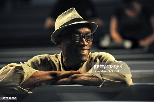 Portrait of the famous american choreographer Bill T Jones directing Ravel Landscape or portrait in Play and Play a contemporary dance piece by Bill...