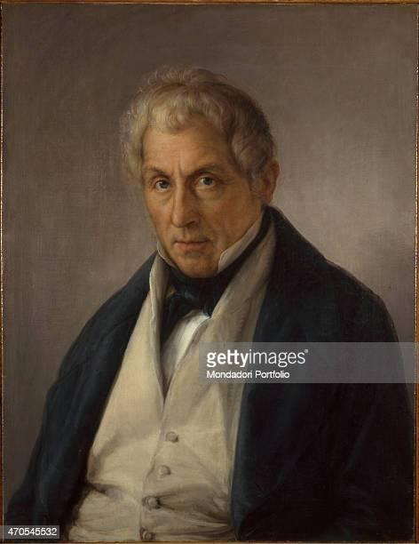 Portrait of the Father of the Bass Marini by Giovanni Carnovali detto il Piccio c 1843 19th Century oil on canvas 70 x 535 cm Italy Lazio Rome...