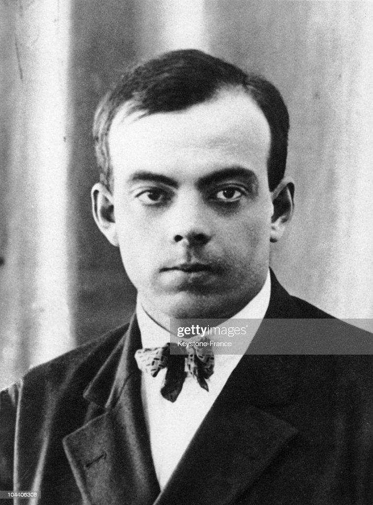 Antoine De Saint-Exupery Around 1920 : News Photo