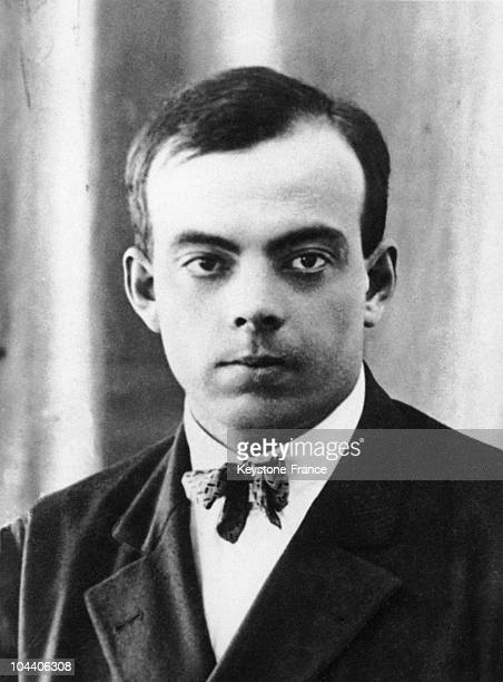 Portrait of the French aviator Antoine DE SAINTEXUPERY in the 1920's It was during this decade that he learned how to pilot