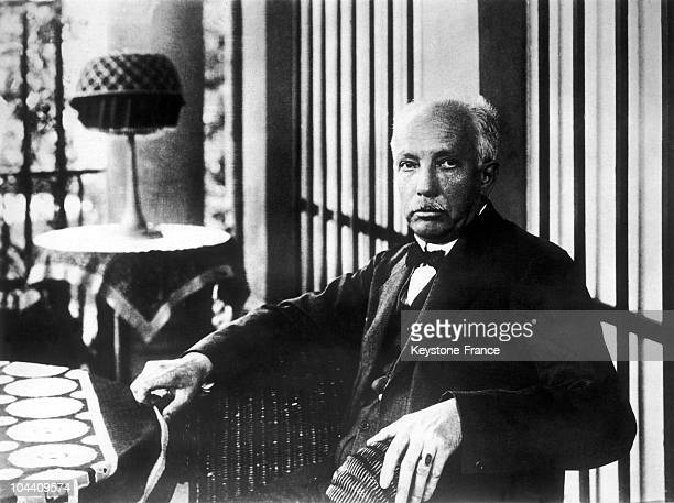 Portrait of the German composer and conductor Richard STRAUSS in 1933.