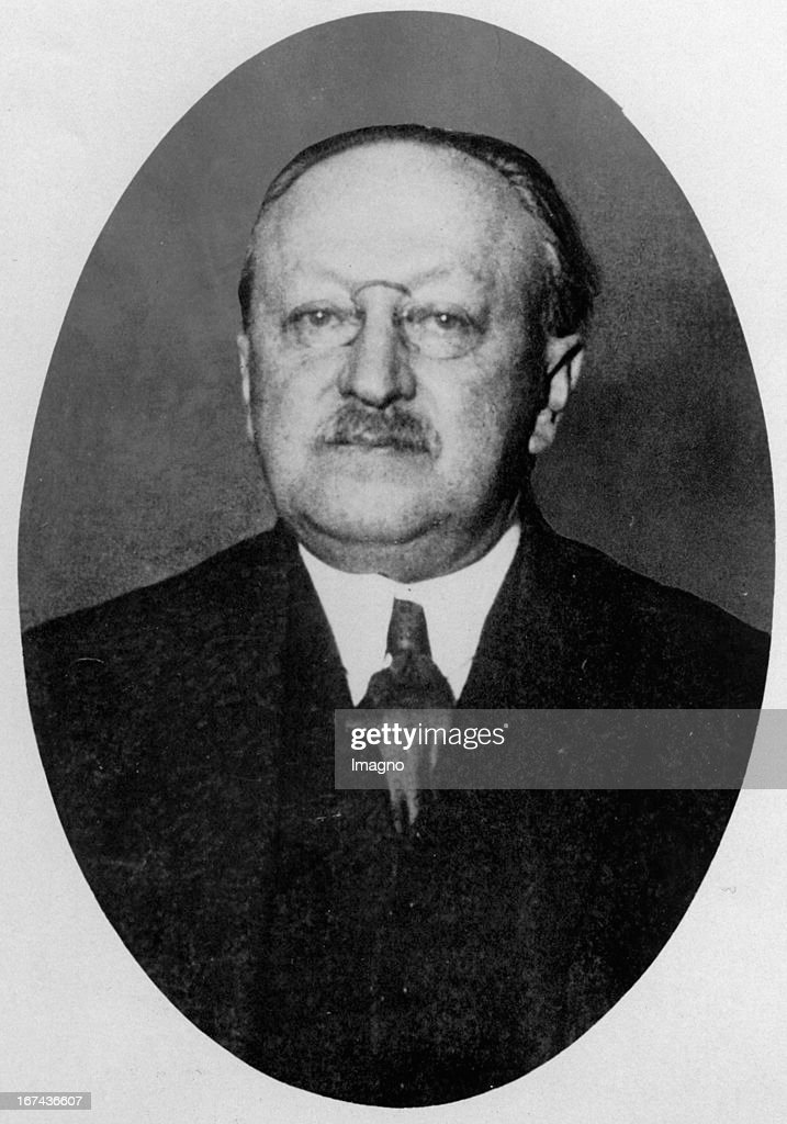 Portrait of the German writer Ludwig Fulda. About 1925. Photograph. (Photo by Imagno/Getty Images) Portrait des deutschen Autors Ludwig Fulda. Um 1925. Photographie.
