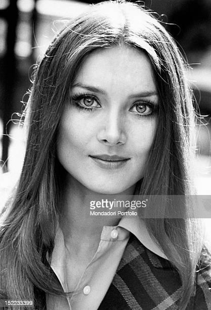 Portrait of the Germanborn Italian actress Barbara Bouchet Rome 1970s