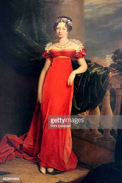 'Portrait of the Grand Duchess Maria Pavlovna', c1822. Grand Duchess Maria Pavlovna of Russia was the third daughter of Tsar Paul I of Russia and...