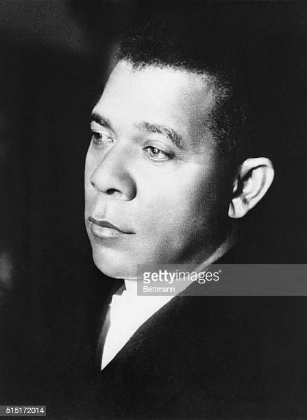 Portrait of the great African American educator Booker T Washington who established the Tuskegee Institute in Tuskegee AL for the purpose of training...