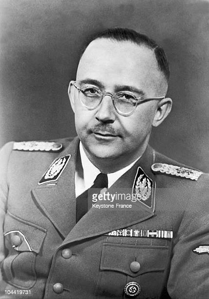 Portrait Of The Head Of The Ss And Head Of The Gestapo, Heinrich Himmler Who Had Just Been Named Minister Of The Interior Of The Reich.