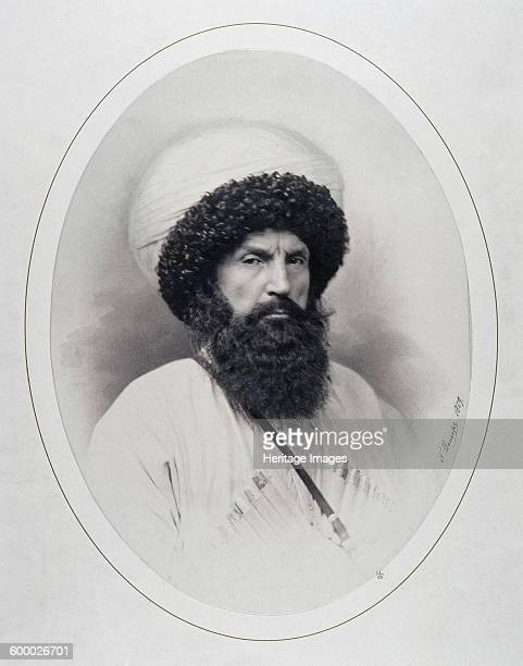 Portrait of the Imam Shamil 1859 Found in the collection of State Hermitage St Petersburg Artist Deniere Andrei