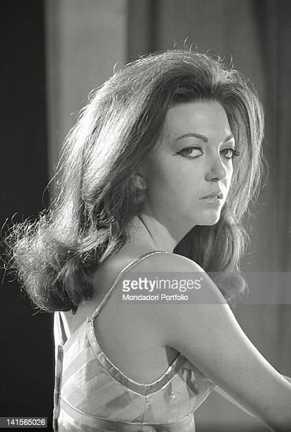 Portrait of the Italian actress Bedy Moratti Italy 1960s