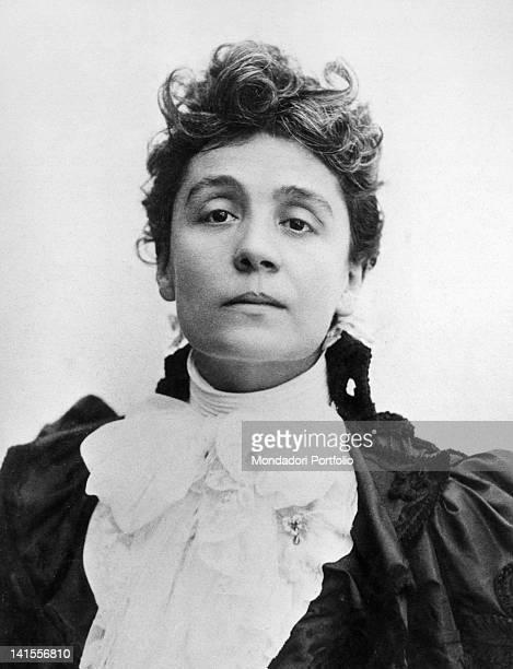 Portrait of the Italian actress Eleonora Duse Paris 1900