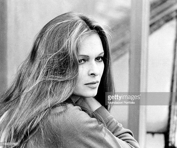 Portrait of the Italian actress Lucia Bose Rome January 1970