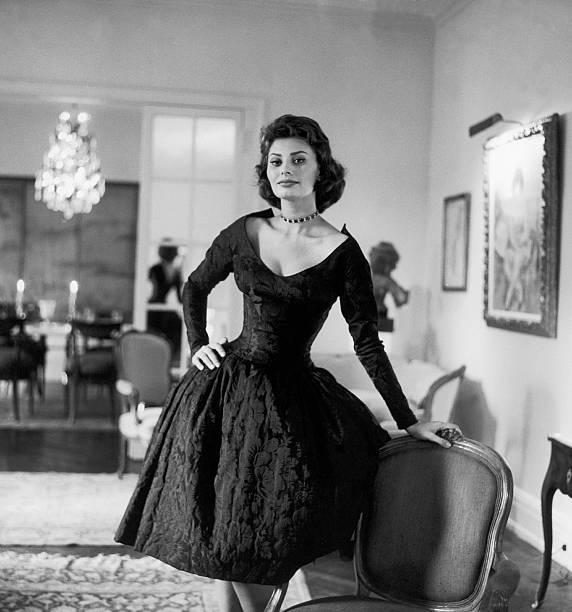 Sophia Loren Dans Son Appartement De New York 1958