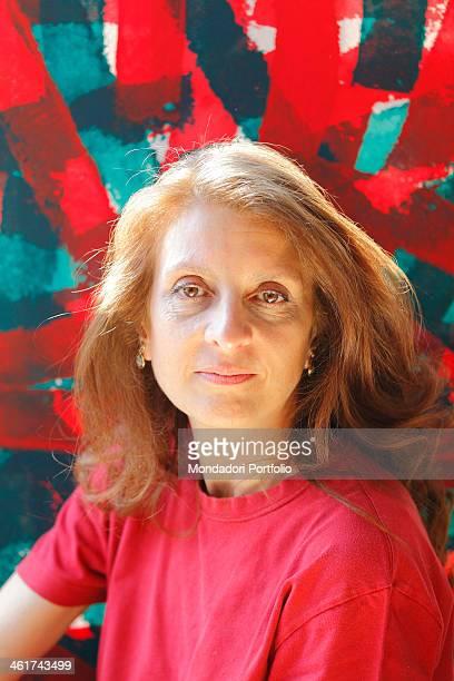 Portrait of the italian art critic Martina Corgnati Torino 15th march 2012