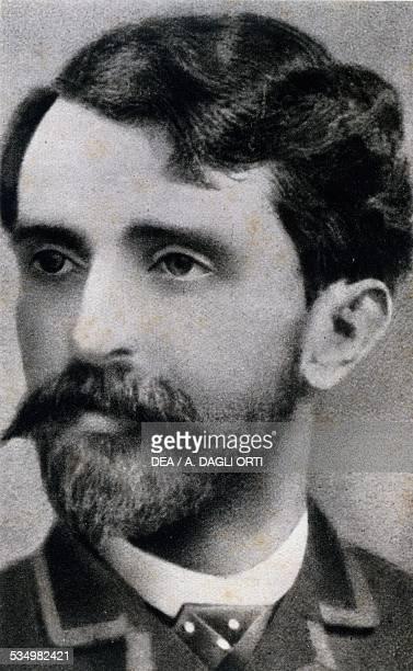 Portrait of the Italian composer Alfredo Catalani 1888 19th century Lucca Istituto Superiore Di Studi Musicali Luigi Boccherini