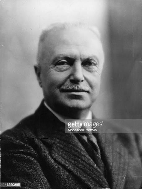 Portrait of the Italian entrepreneur Giovanni Agnelli. Italy, 1930s